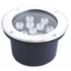 Lampu Tanam LED Outdoor Waterproof Aluminium Dim. 160MM - Blue
