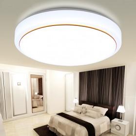 Lampu LED Plafon Modern 36W 40cm - White/Gold
