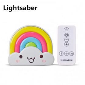 Lampu Tidur LED dengan Remote Control - White - 3