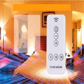 Lampu Tidur LED dengan Remote Control - White - 5