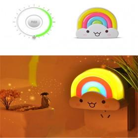 Lampu Tidur LED dengan Remote Control - White - 6