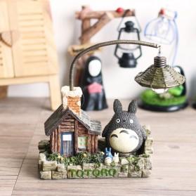 Lampu Meja Malam Totoro Square