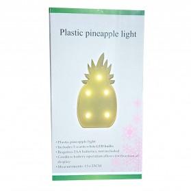 Lampu Dekorasi Marquee Light LED - Model Pineapple M03 - Yellow - 7