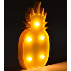 Lampu Dekorasi Marquee Light LED - Model Pineapple M03 - Yellow - 2