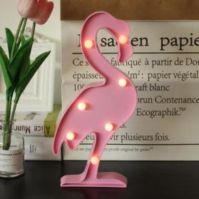 Lampu Rumah - Adeeing Lampu Dekorasi Marquee Light LED - Model Flamingo - M03 - Pink