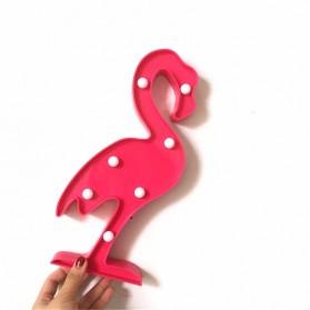 Adeeing Lampu Dekorasi Marquee Light LED - Model Flamingo - M03 - Red - 2