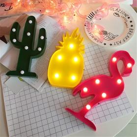 Adeeing Lampu Dekorasi Marquee Light LED - Model Flamingo - M03 - Red - 3