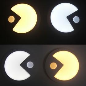 Lampu Hias LED Sensor Infrared Deteksi Cahaya Model Pacman 70Lm - White - 2