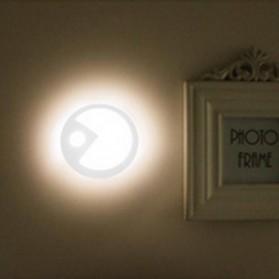 Lampu Hias LED Sensor Infrared Deteksi Cahaya Model Pacman 70Lm - White - 3
