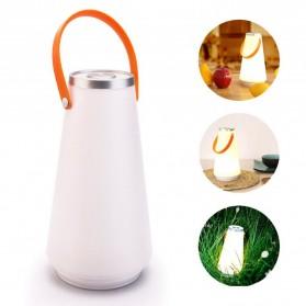 Lampu Lantera LED Touch Panel Champing Lantern Portable - NY-8020 - White