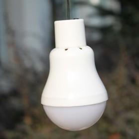 Lampu LED / Lampu Hias - Bai De Fu Lampu LED Camping 3W dengan Solar Panel - SL-T1208