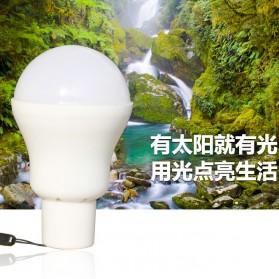 Bai De Fu Lampu LED Camping 3W dengan Solar Panel - SL-T1208 - 5