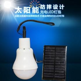 Bai De Fu Lampu LED Camping 3W dengan Solar Panel - SL-T1208 - 6