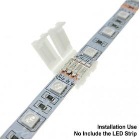 Konektor Lampu LED Strip RGB 5 Pin 12mm - White - 3