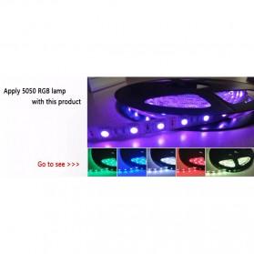 Sensor Suara Sound Music Control Lampu LED Strip dengan Remote Control - Black - 4
