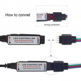 Lampu LED Strip RGB SATA For PC Computer with Remote Control - 200CM - Multi-Color - 3