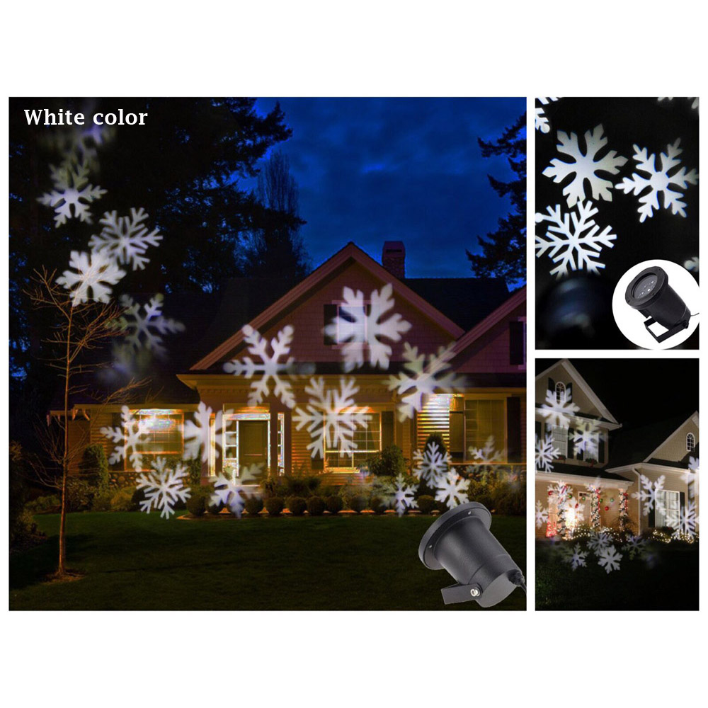 Lampu Proyektor Snowflake Taman Outdoor Black Solar Powered Garden Decoration Light 100 Led 12 Meter Hias 2