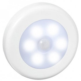 Lampu LED Sensor Infrared PIR Motion Deteksi Cahaya - White