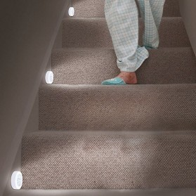 Lampu LED Sensor Infrared PIR Motion Deteksi Cahaya - White - 2