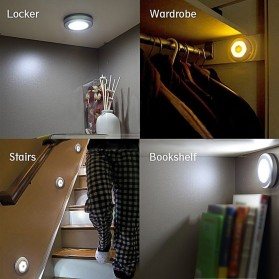 Lampu LED Sensor Infrared PIR Motion Deteksi Cahaya - White - 4
