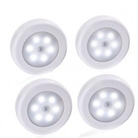 Lampu LED Sensor Infrared PIR Motion Deteksi Cahaya - White - 5