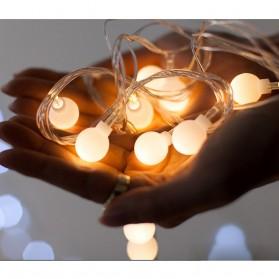 Goodland Lampu Hias Dekor Cherry Ball Fairy 5M Warm White - LY2020WW - Warm White - 3