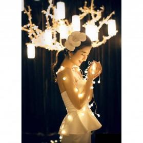 Goodland Lampu Hias Dekor Cherry Ball Fairy 5M Warm White - LY2020WW - Warm White - 4
