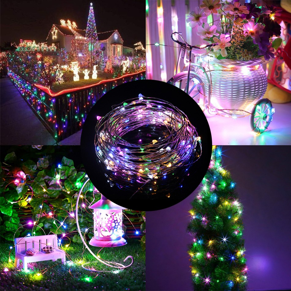 Lampu Hias Dekorasi USB Powered 50 LED 5 Meter with Remote Control - Multi-Color ...