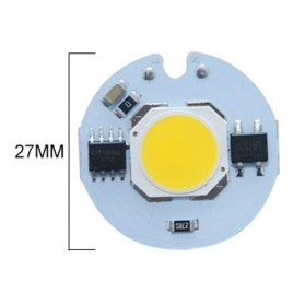 Chip Lampu SMD COB LED Epistar 220V 9W - White
