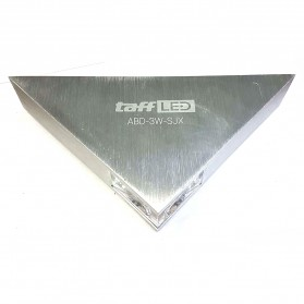TaffLED Lampu Hias Dinding LED Modern Triangle Aluminium 3W - ABD-3W-SJX - Warm White - 2