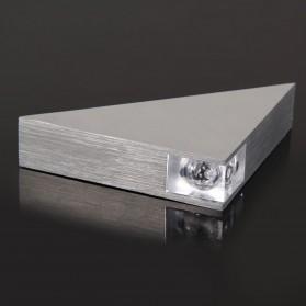 TaffLED Lampu Hias Dinding LED Modern Triangle Aluminium 3W - ABD-3W-SJX - Warm White - 4