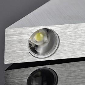 TaffLED Lampu Hias Dinding LED Modern Triangle Aluminium 3W - ABD-3W-SJX - Warm White - 5