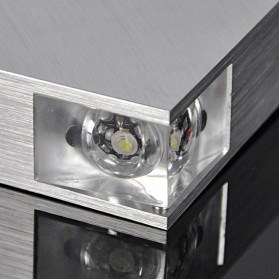 TaffLED Lampu Hias Dinding LED Modern Triangle Aluminium 3W - ABD-3W-SJX - Warm White - 6