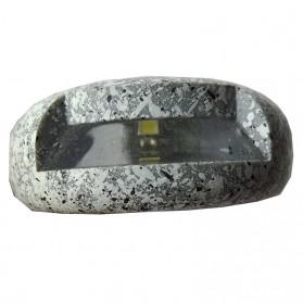 SOLLED Lampu Hias Taman LED Solar Lamp Path Light Fake Stone - GA-002 - Gray - 2