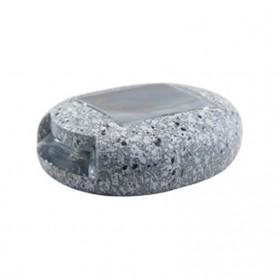 SOLLED Lampu Hias Taman LED Solar Lamp Path Light Fake Stone - GA-002 - Gray - 3