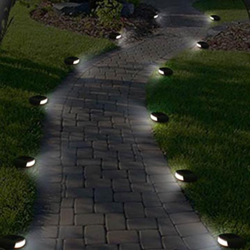 Solled Lampu Hias Taman Led Solar Lamp Path Light Fake Stone Ga 002 Gray Jakartanotebook Com