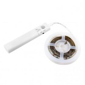 Lampu LED Strip dengan Sensor Gerak 1M - Natural White - White