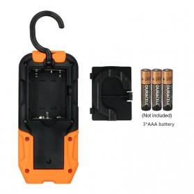 TaffLED Senter Camping Lampu LED Portable Gantung  + Magnet COB 200 Lumens 5000K - CB601 - Orange - 3
