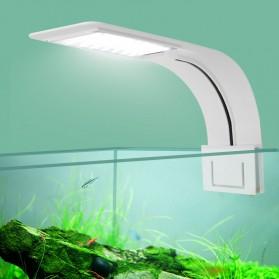 Virgo Lampu Aquarium LED Light Super Slim Clip On 10W 5730K - X5 - White - 2
