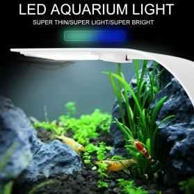 Virgo Lampu Aquarium LED Light Super Slim Clip On 10W 5730K - X5 - White - 3