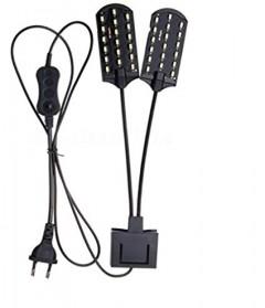 Lampu Aquarium LED Light Super Slim Clip On - X7 - Black