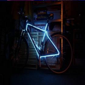 Lampu Dekorasi Mobil Motor LED Neon 2.3mm 3 Meter - HGAA677I - Blue - 2