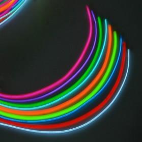 Lampu Dekorasi Mobil Motor LED Neon 2.3mm 3 Meter - HGAA677I - Blue - 6