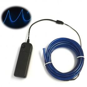 Lampu Dekorasi Mobil Motor LED Neon 5.0mm 3 Meter - Blue