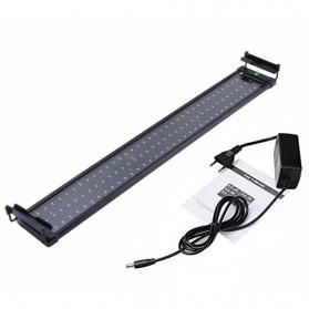 Lampu Akuarium LED Light Extendable Bracket 72cm - Black