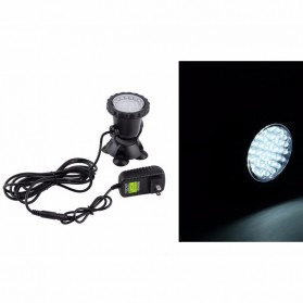 Lampu Sorot Outdoor Taman Waterproof - Black