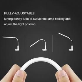 Tomshine Lampu Meja LED Eye Protection Desk Lamp Clip 24 LED 5W 5000K-5500K - L1515W - White - 6