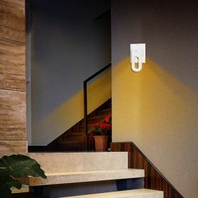 Lampu Hias Dinding LED Warm Light 2 PCS - Warm White