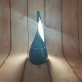 Lampu Meja Belajar LED dengan Bluetooth Speaker - Black - 2