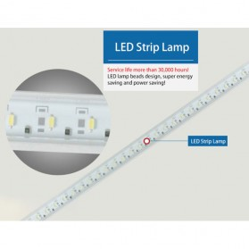 Lampu LED Dimmable Touch LED 21 LED - FYD-1611 - White - 5